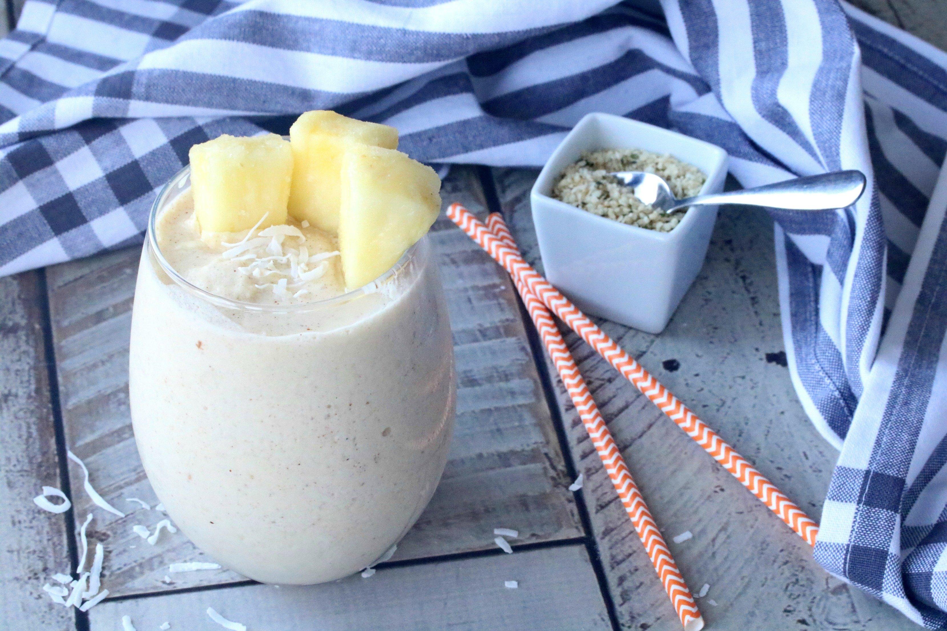 Vegan Pineapple Smoothie