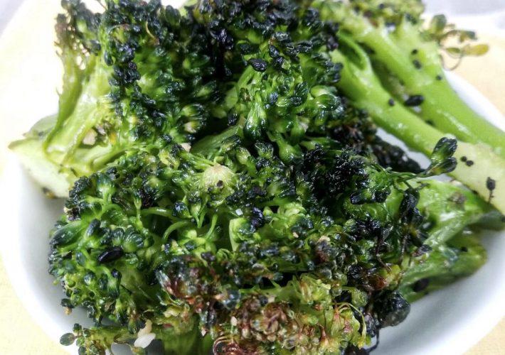 Healthy Oven-Roasted Broccoli