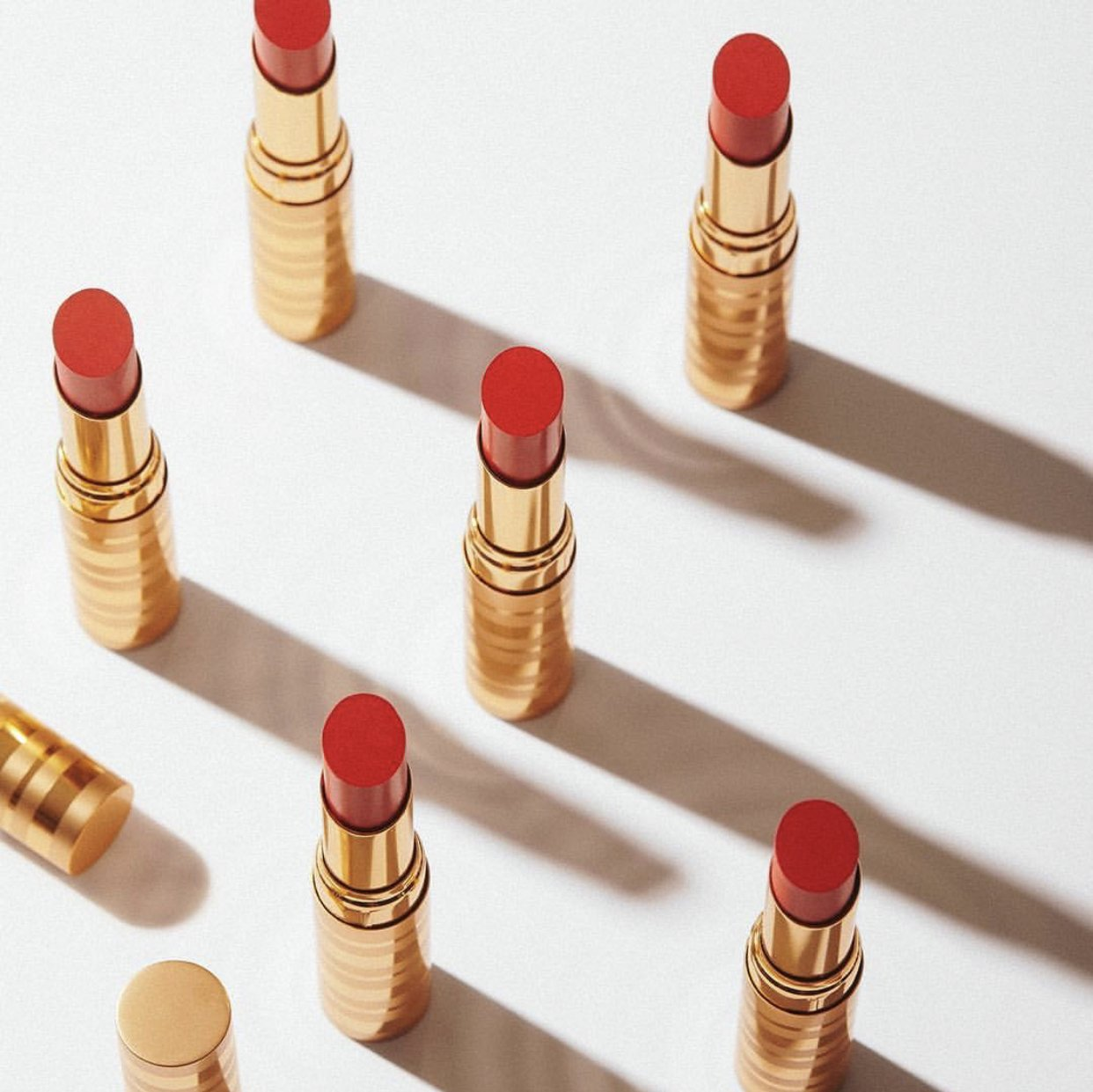 finding happiness with red lipstick