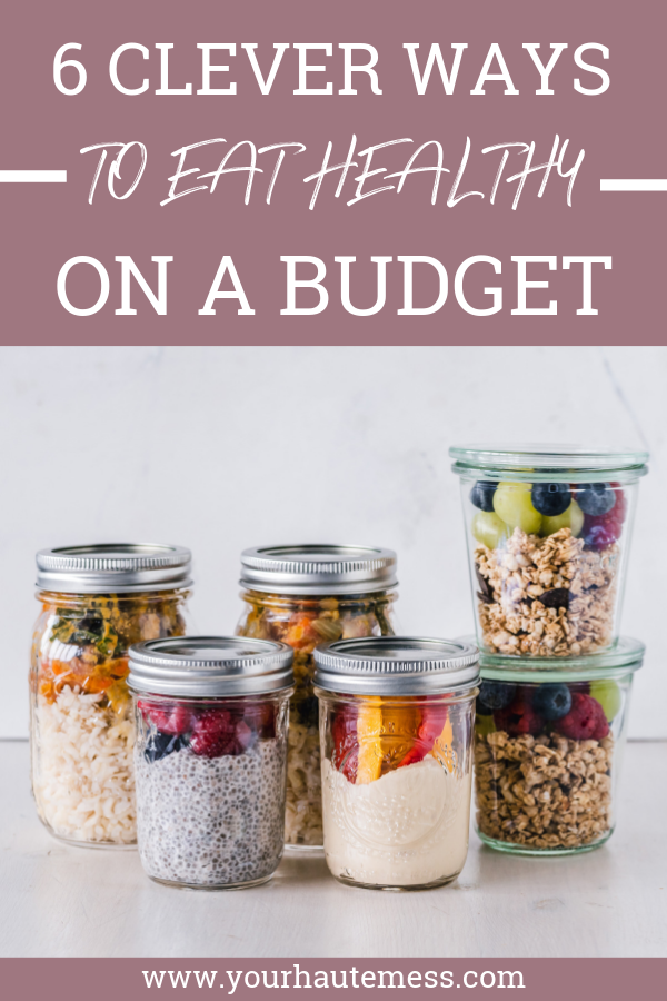 It doesn't have to be hard to eat healthy on a budget. These simple tips can make it way more easy than you ever thought possible! #eathealthy #budgetfriendly #mealprep