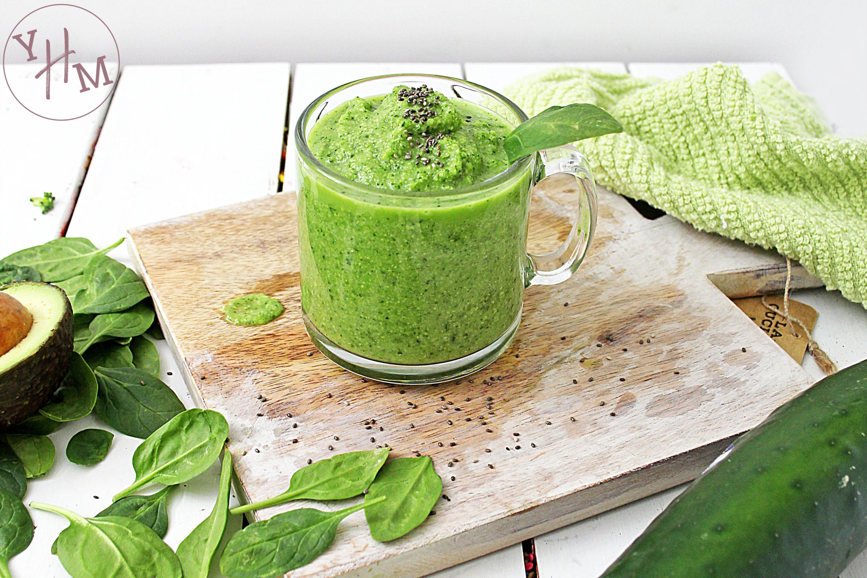 Healthy Super Green Smoothie Recipe