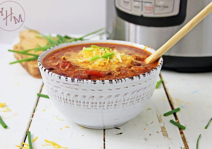 Gluten-Free Instant Pot Turkey Chili