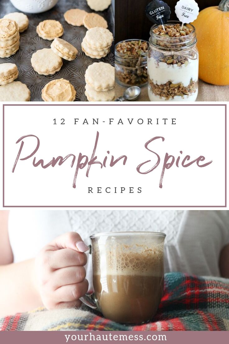 pumpkin spice recipes