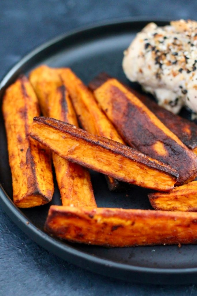 roasted sweet potatoes from Organize Yourself Skinny